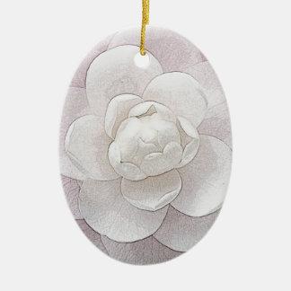 Bonito en rosa ornamentos de reyes magos