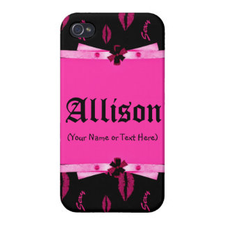 Bonito en rosa iPhone 4 carcasa