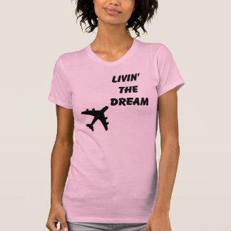 Bonito en rosa camiseta
