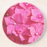Bonito en rosa posavasos diseño