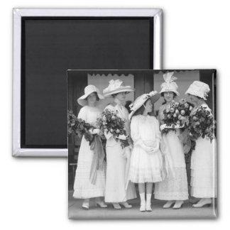 Bonito en White, 1912 Iman De Frigorífico