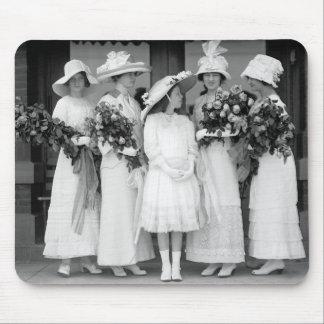 Bonito en White, 1912 Tapete De Raton
