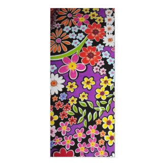 bonito floral del padrão anuncios personalizados