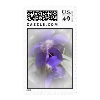 Bonito floral sello