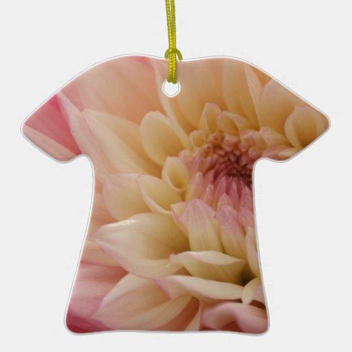 Bonito palidezca - la flor rosada ornamentos de reyes magos