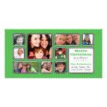Bonito poca tarjeta de la foto del collage del lun tarjeta fotografica personalizada