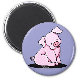 Bonito poco Piggie Imán