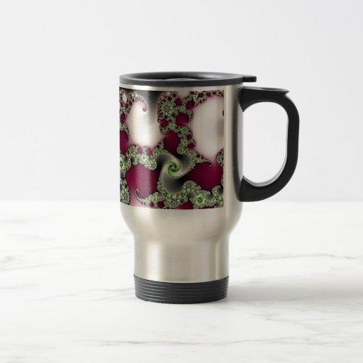 Bonito popular taza de viaje de acero inoxidable