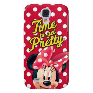 Bonito rojo de Minnie el   Funda Para Galaxy S4