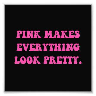 Bonito rosado fotografía