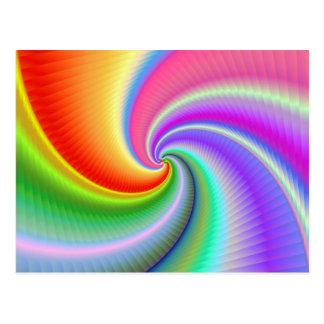 Bonito Spiralz de Ohhhhh Tarjetas Postales