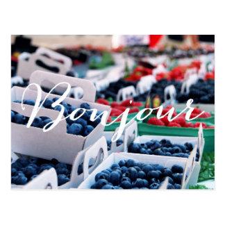 Bonjour Berries POSTCARD