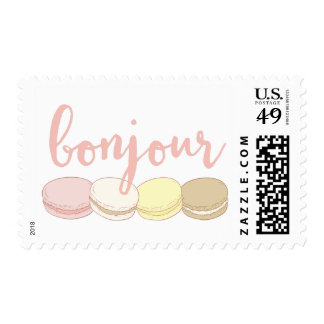 Bonjour French Macarons Postage