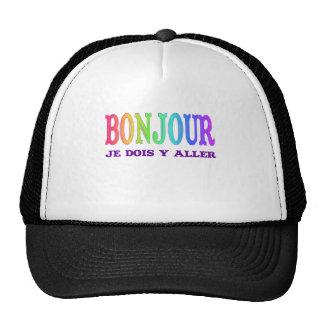 Bonjour Trucker Hats