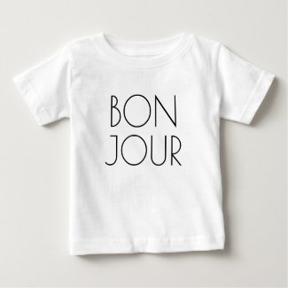 Bonjour, Hello in French