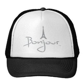 Bonjour (Hello) Paris Trucker Hat