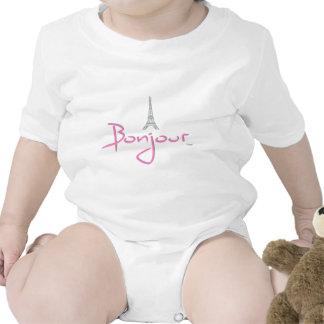 Bonjour hola París Trajes De Bebé