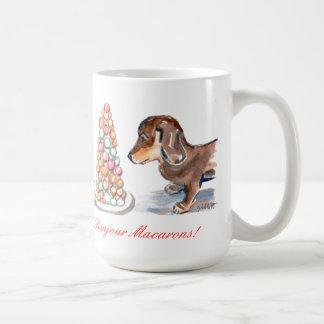 Bonjour Macarons Mug