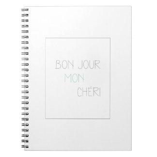 Bonjour Mon Cheri Notebook
