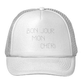 Bonjour Mon Cheri Trucker Hat