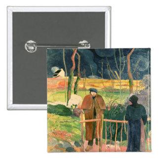 Bonjour, Monsieur Gauguin, 1889 Pin
