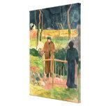 Bonjour, Monsieur Gauguin, 1889 Stretched Canvas Print