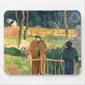 Bonjour, Monsieur Gauguin, 1889 Mouse Pad
