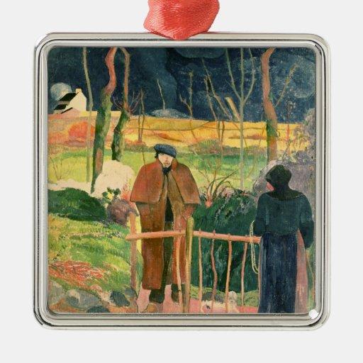 Bonjour, Monsieur Gauguin, 1889 Ornament