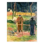 Bonjour, Monsieur Gauguin, 1889 Postcard