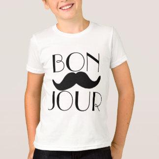 BONJOUR Moustache T-Shirt