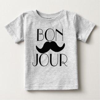 BONJOUR Moustache Tee Shirt