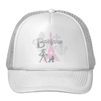 Bonjour Paris 2 Hat