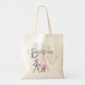 Bonjour Paris 2 Tote Bag