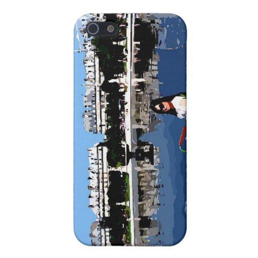 Bonjour París iPhone 5 Carcasas