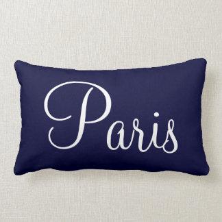 Bonjour Paris Lumbar Pillow