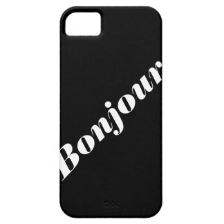 Bonjour Phone Case iPhone 5 Cover