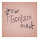 Bonjour Photography Print Photo Print