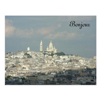 Bonjour Postcard