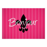 Bonjour Posters