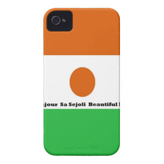 Bonjour  sa sejoli  Beautiful Niger.jpg iPhone 4 Cover