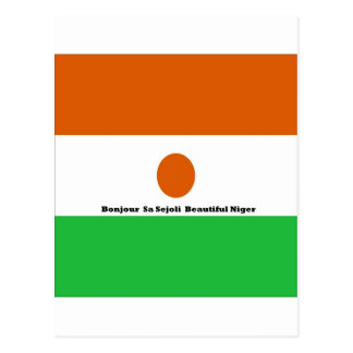 Bonjour  sa sejoli  Beautiful Niger.jpg Postcard