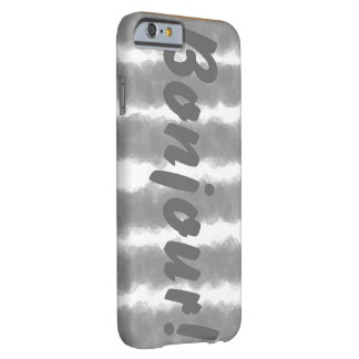 Bonjour Stripe Phone Case