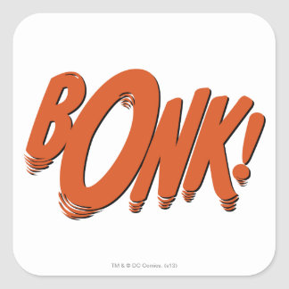 BONK! SQUARE STICKER