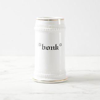 *bonk* stein coffee mug