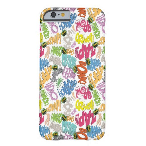 BONK ZAP CRASH Pattern Barely There iPhone 6 Case