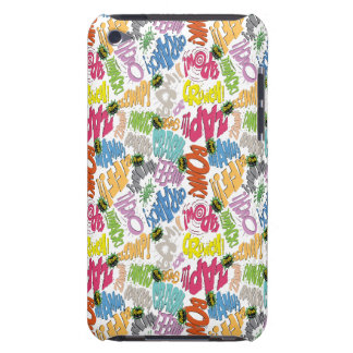 BONK ZAP CRASH Pattern iPod Touch Case