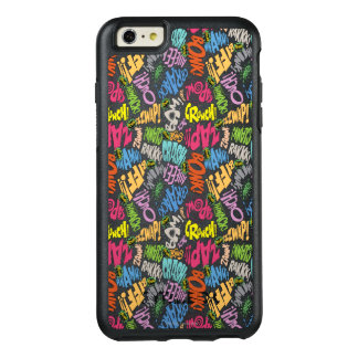 BONK ZAP CRASH Pattern OtterBox iPhone 6/6s Plus Case