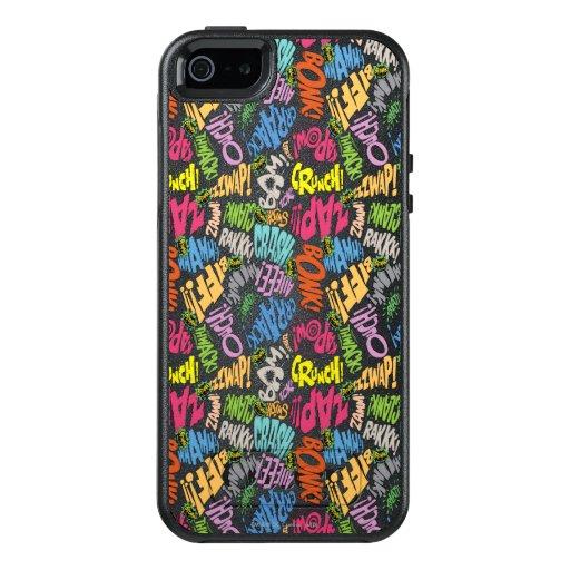 BONK ZAP CRASH Pattern OtterBox iPhone 5/5s/SE Case