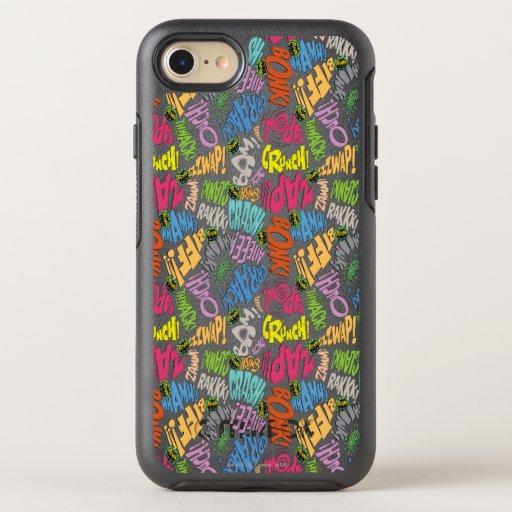 BONK ZAP CRASH Pattern OtterBox Symmetry iPhone 8/7 Case