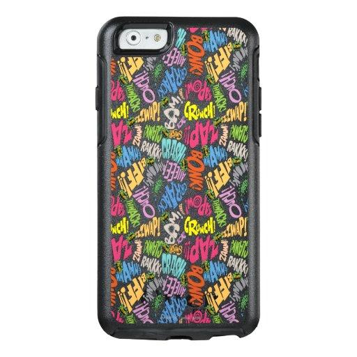 BONK ZAP CRASH Pattern OtterBox iPhone 6/6s Case